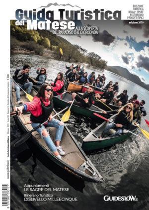 guida turistica del matese - copertina 2019